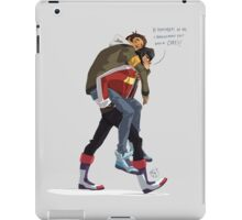 Klance at early stage! iPad Case/Skin