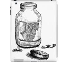 Heart in a Jar  iPad Case/Skin