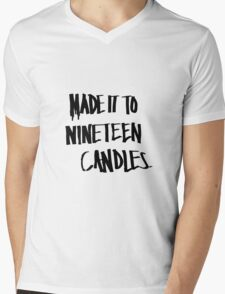 Nineteen Candles. Mens V-Neck T-Shirt