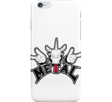 Metal Unicorn iPhone Case/Skin