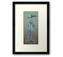Trapped Mind Framed Print
