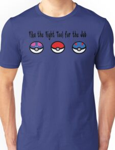 Pika the Right Tool for the Job Unisex T-Shirt