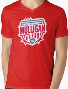 MULLIGAN TWENTY SIXTEEN Mens V-Neck T-Shirt