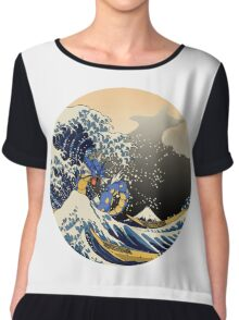 The Great Sea Monster Chiffon Top