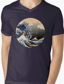The Great Sea Monster Mens V-Neck T-Shirt