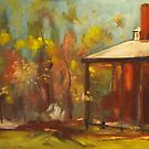 The old homestead at Armstead Winery at Knowsley VIC by Margaret Morgan (Watkins)