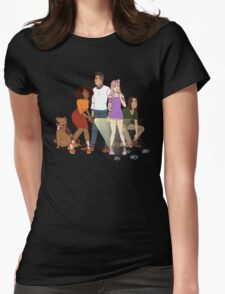 Where Are You? Womens Fitted T-Shirt