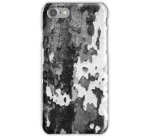 bark of a Platanus  iPhone Case/Skin