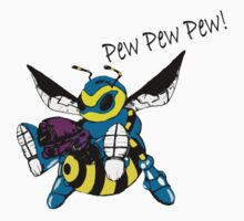 pew pew pew BEE! by greatbritton99