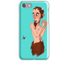 Scaredy Satyre iPhone Case/Skin