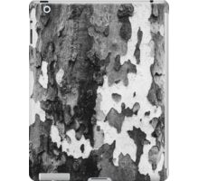 bark of a Platanus  iPad Case/Skin