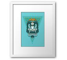 Irradiated Gorilla No. 2 Framed Print