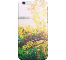 nature back light love iPhone Case/Skin
