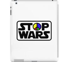 Stop Wars One iPad Case/Skin