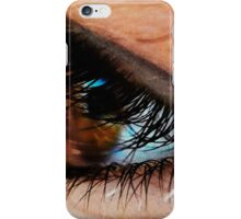 lashes. iPhone Case/Skin