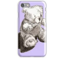 Purple Teddy iPhone Case/Skin