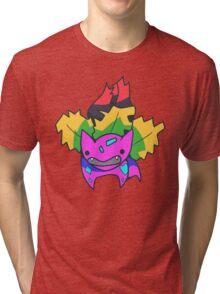 Psychedelvysaur Tri-blend T-Shirt