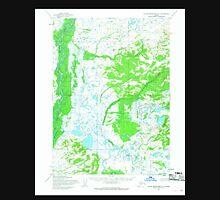 USGS TOPO Map Alaska AK Taylor Mountains A-1 359835 1954 63360 Unisex T-Shirt