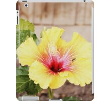 Tropical Backyard Flower iPad Case/Skin