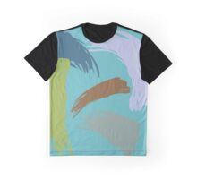 Untitled Abstract Sea Graphic T-Shirt