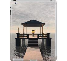 Waterside Gazebo iPad Case/Skin