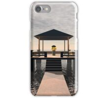 Waterside Gazebo iPhone Case/Skin