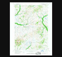 USGS TOPO Map Alaska AK Taylor Mountains A-3 359839 1954 63360 Unisex T-Shirt