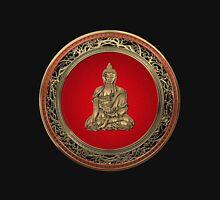 Treasure Trove - Gold Buddha on Black Velvet  Unisex T-Shirt