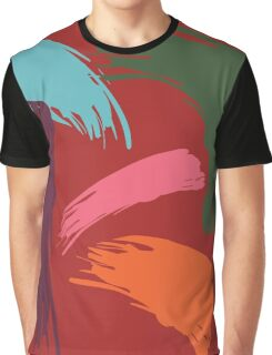 Untitled Abstract Sunset Graphic T-Shirt