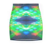 30 Compressed Long Exposure Laser Photograph Mini Skirt