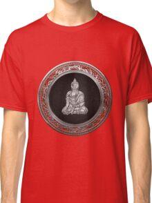 Treasure Trove - Silver Buddha on Red Velvet Classic T-Shirt
