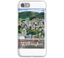 Wellington Harbour by Ira Mitchell-Kirk iPhone Case/Skin