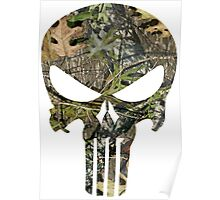 Punisher Mossy Oak Poster