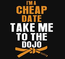 Cheap Date Take Me to the Dojo Funny T-Shirt Womens Fitted T-Shirt