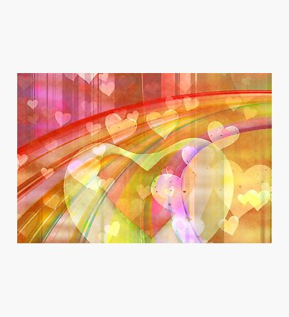 light hearts Photographic Print