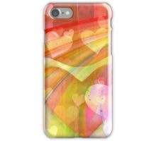 light hearts iPhone Case/Skin