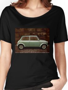 Austin Mini Cooper Mixed Media Women's Relaxed Fit T-Shirt