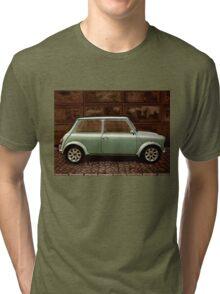 Austin Mini Cooper Mixed Media Tri-blend T-Shirt