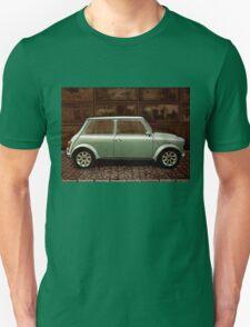 Austin Mini Cooper Mixed Media Unisex T-Shirt