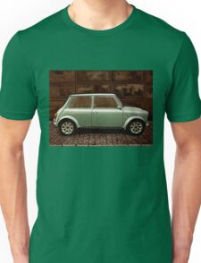 Austin Mini Cooper Mixed Media Unisex T-Shirt