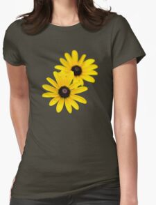 Black Eyed Susans Womens Fitted T-Shirt
