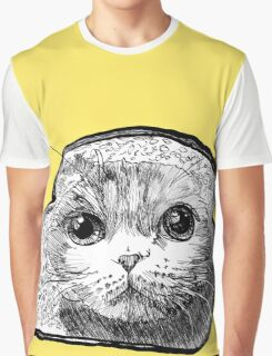 Bread Cat Graphic T-Shirt