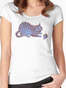 Schroedinger's hairball Women's Fitted Scoop T-Shirt