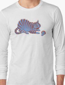 Schroedinger's hairball Long Sleeve T-Shirt