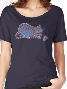 Schroedinger's hairball Women's Relaxed Fit T-Shirt