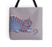 Schroedinger's hairball Tote Bag