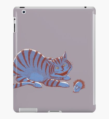 Schroedinger's hairball iPad Case/Skin