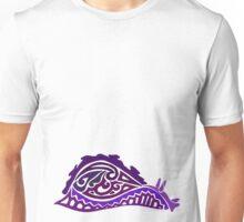 Sea Hare Tribal Design - Colored  Unisex T-Shirt