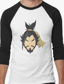 """Let the dragon consume you!"" - Minimalist Portrait Men's Baseball ¾ T-Shirt"
