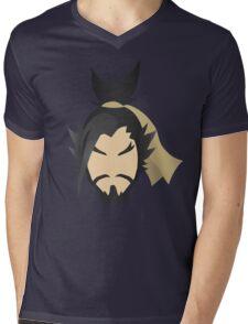"""Let the dragon consume you!"" - Minimalist Portrait Mens V-Neck T-Shirt"